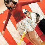 【企画】素人美女がエッチな綱渡りゲームに参加して、罰ゲームで電マ&高速手マンで潮吹きさせられる!