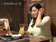 【盗撮】相席居酒屋でHカップ巨乳ちょいぽちゃ人妻(29歳)をGETして自宅に誘って寝取りセックス!